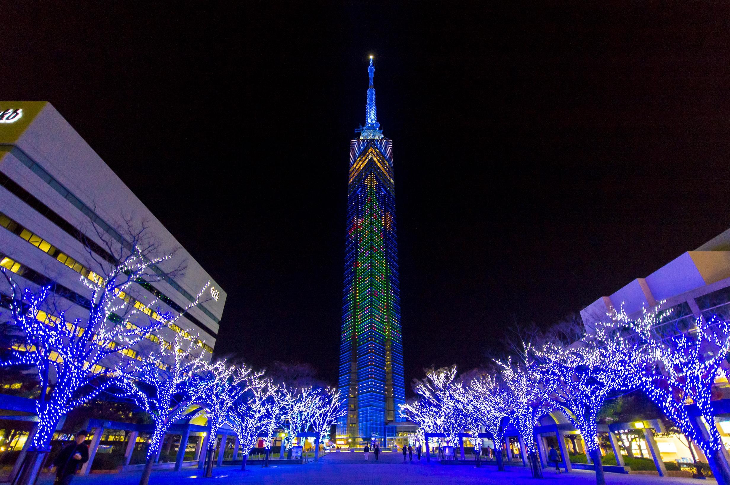 ブルーライトクリスマス TNC放送会館 2019